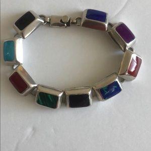 """Vintage Gemstone Bracelet 7"""""""